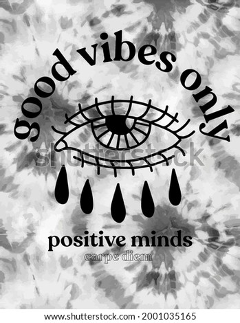 positive minds vector graphic