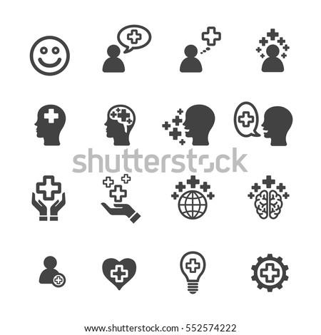 positive thinking icon