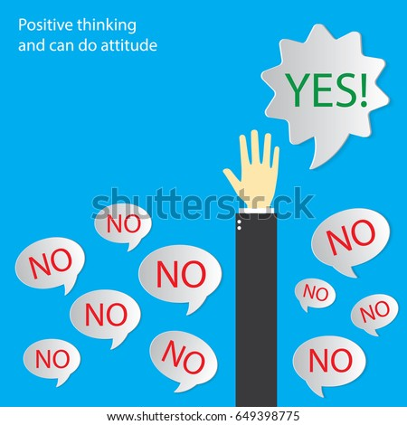 positive thinking  think