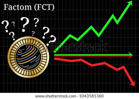 Possible graphs of forecast Factom (FCT) cryptocurrency - up, down or horizontally. Factom (FCT) chart.