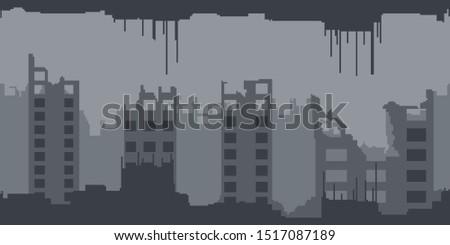 post apocalyptic abandoned city