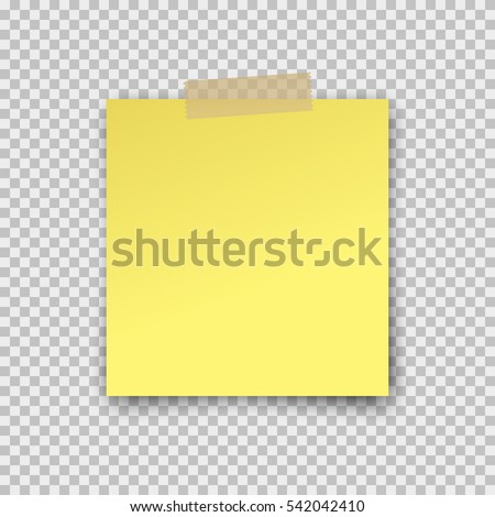 post note paper sticker