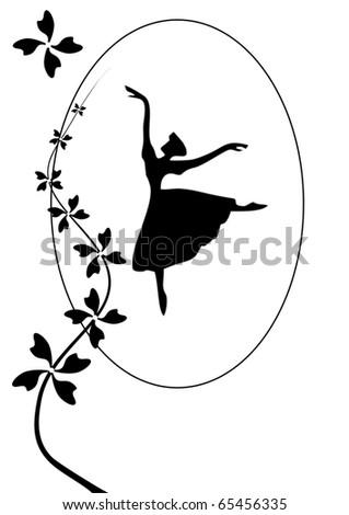 postcard ballerina