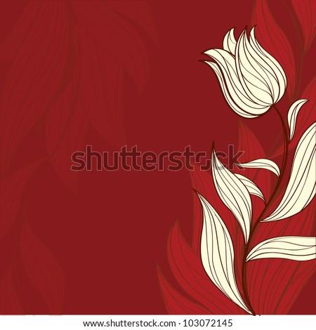 postcard flowers