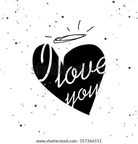 postcard heart   valentines day
