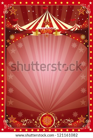 poster christmas circus A circus poster on the christmas theme.. Enjoy