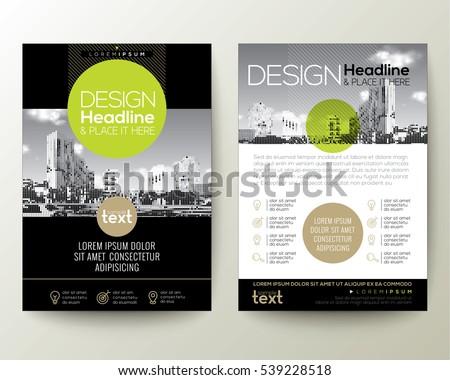 Modern Business Flyer Template Download Free Vector Art Stock