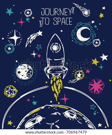 poster for journey to space