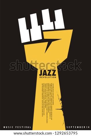 poster idea for jazz festival