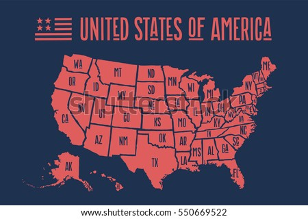 USA Florida States Map Vector Download Free Vector Art Stock - Hand drawn us map vector