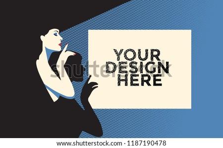 poster mockup vector design