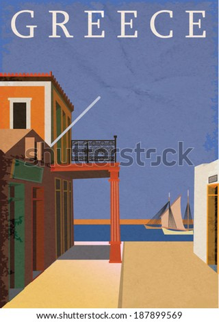 Poster of Greece.