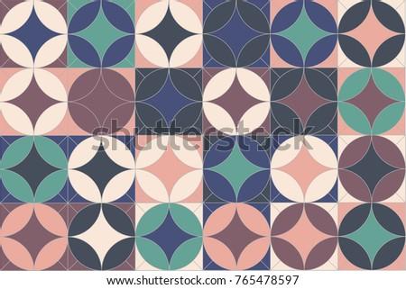 poster retro background pattern retro image pink green white