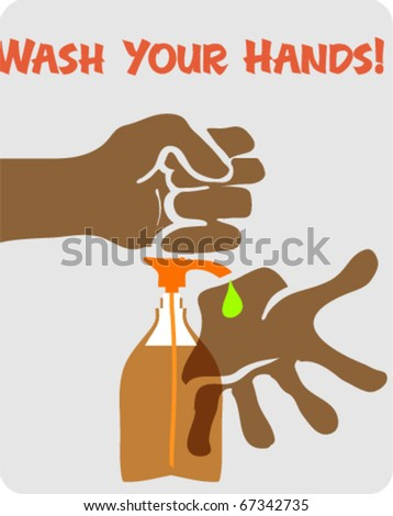 """Poster """"Wash Your Hands"""""""