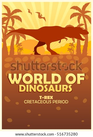poster world of dinosaurs