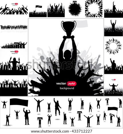 posters and silhouettes with