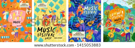 posters for a summer live music