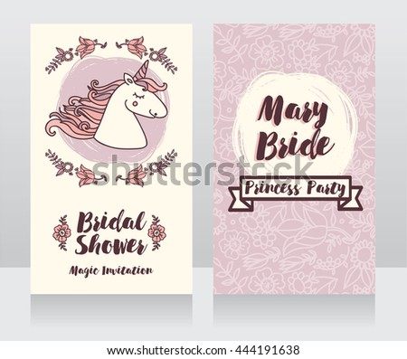 posters for bridal shower with