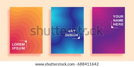 posters with abstract geometric