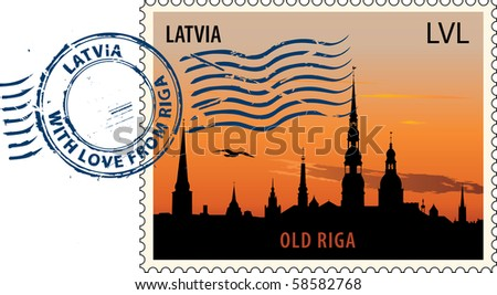 postmark with night sight of