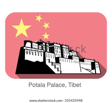 potala palace landmark of the