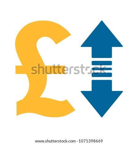 Pound sign icon, money Pound illustration - vector cash illustration, money symbol