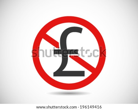 pound sterling prohibited