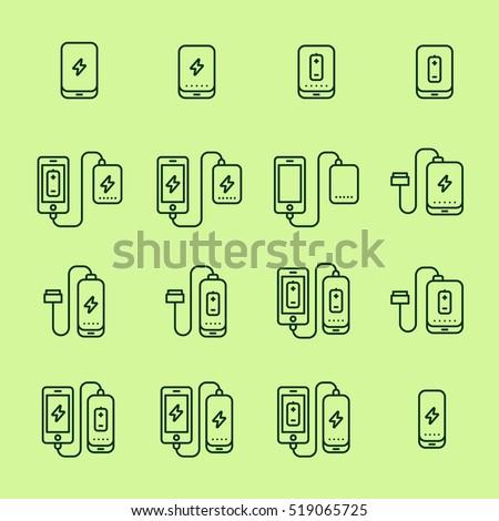 power bank battery phone