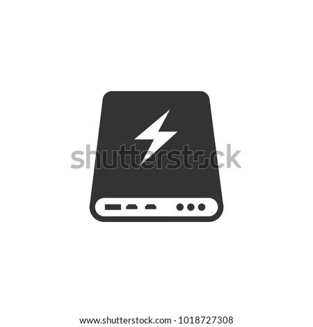 Power bank icon Vector illustration. Eps 10.