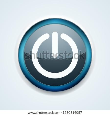 Power button illustration