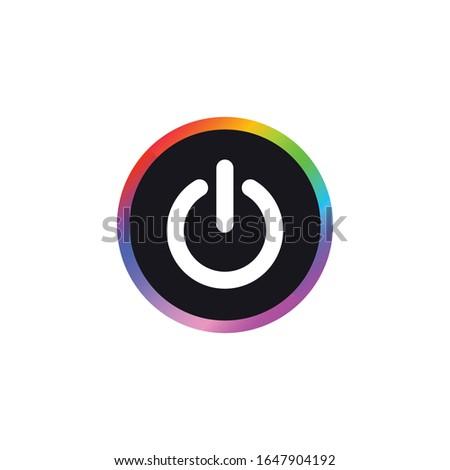 Power Button - Modern Button Icon