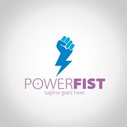 Power Fist Logo