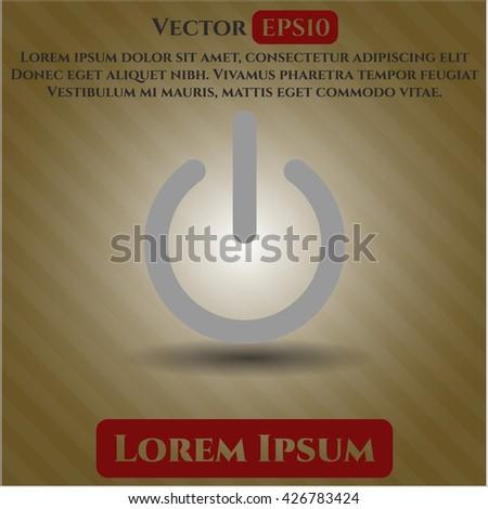 power icon  power icon vector