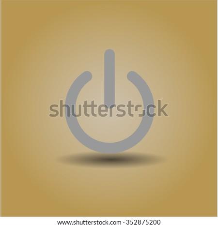Power icon vector illustration