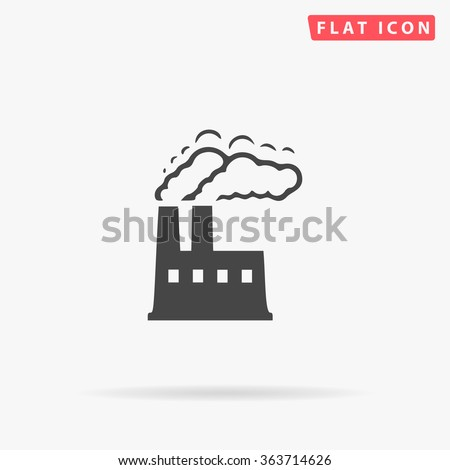 power plant icon vector
