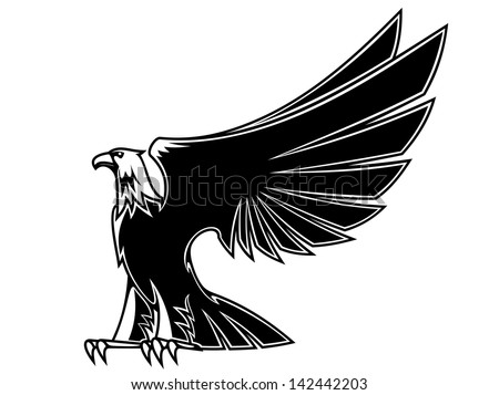 powerful and majestic eagle for