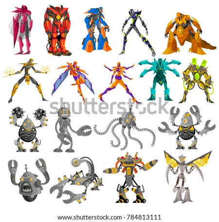 powerful battle robots