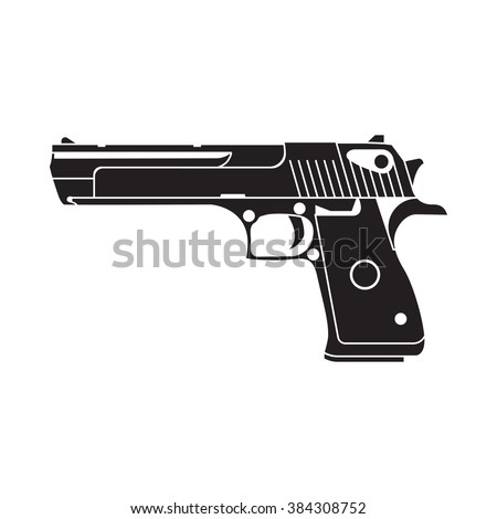 powerful pistol  gun  handgun