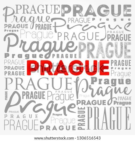prague wallpaper word cloud