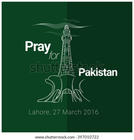pray for pakistan attach