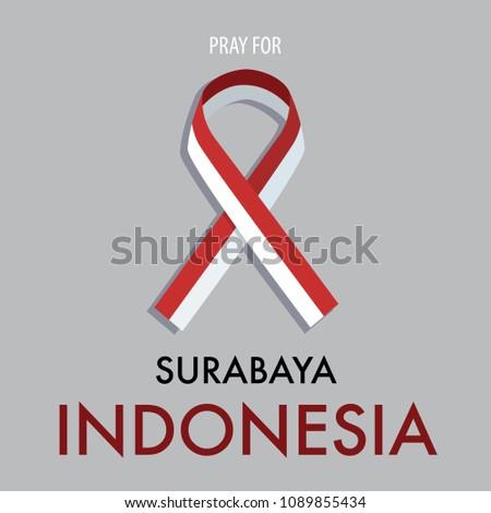 pray for surabaya indonesia a