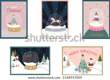 pre made christmas greeting