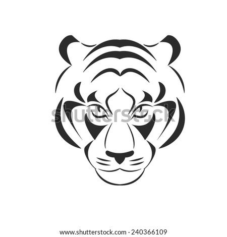 predator head tiger line