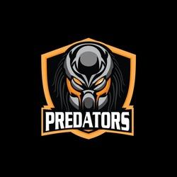 Predator Logo Mascot For Sport, E sports
