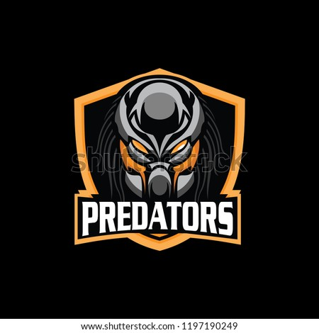 predator logo mascot for sport