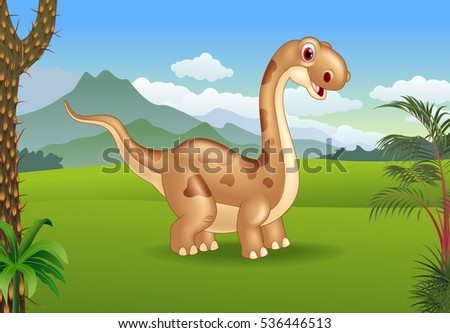 prehistoric background with