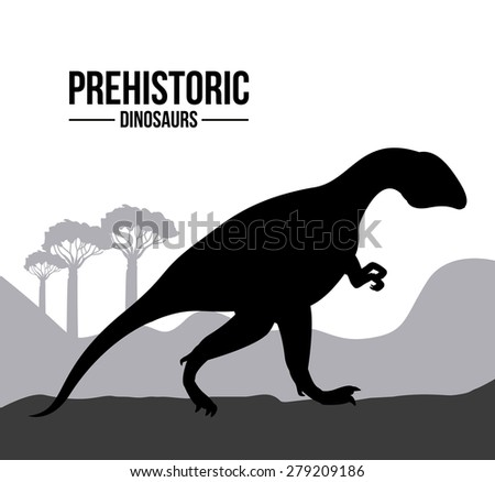 prehistoric design over