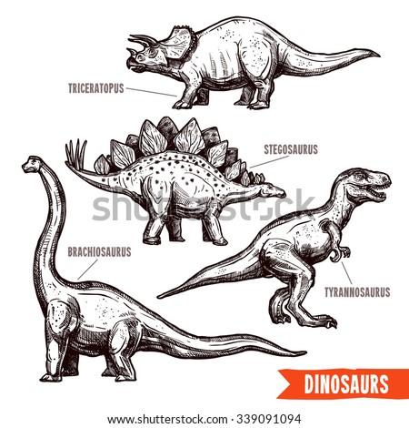 prehistoric dinosaurs 4 diverse