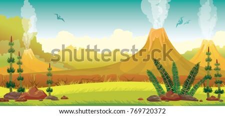 prehistoric nature   extinct