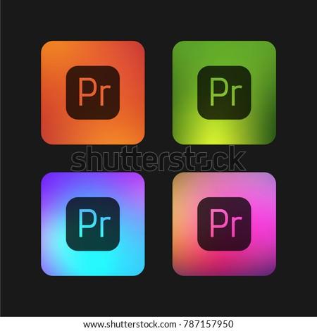 premiere four color gradient